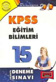 Yargı KPSS Eğitim Bilimleri 15 Fasikül Deneme Sınavı-2009