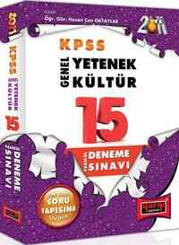 Yargı KPSS Genel Kültür-Genel Yetenek 15 Fasikül Deneme Sınavı-2009