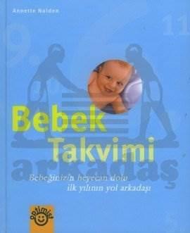 Bebek Takvimi (Ciltli) Mavi
