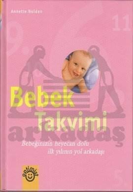 Bebek Takvimi (Ciltli) Pembe