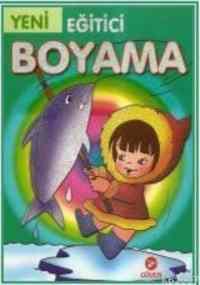 Eğitici Boyama - Yeşil