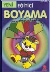 Eğitici Boyama - Mavi
