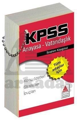 Kpss Anayasa Vatandaşlık Strateji Kartları