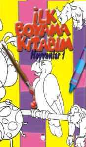 İlk Boyama Kitabım Hayvanlar 1