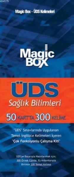 Magic Box ÜDS Sağlık Bilimleri; 50 Kartta 300 Kelime