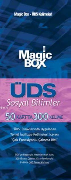 Magic Box ÜDS Sosyal Bilimler; 50 Kartta 300 Kelime
