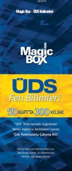 Magic Box ÜDS Fen Bilimleri; 50 Kartta 300 Kelime
