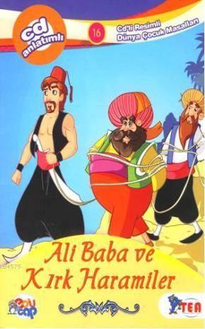 Ali Baba Ve Kırk Haramiler Cd Anlatımlı