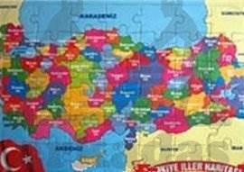 Türkiye Haritasi Yapboz