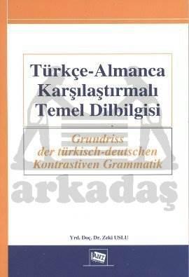 Türkçe-Almanca Karşılaştırmalı Dilbilgisi