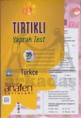 6.Sınıf Türkçe Tırtıklı Yaprak Test