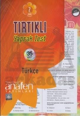 7. Sınıf Türkçe Tırtıklı Yapraklı Set