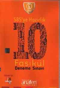 6. Sınıf SBS'ye Hazırlık 10 Fasikul Deneme Sınavı - CD Hediyeli