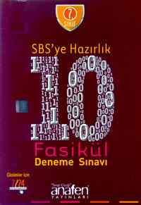 7. Sınıf SBS'ye Hazırlık 10 Fasikul Deneme Sınavı - CD Hediyeli
