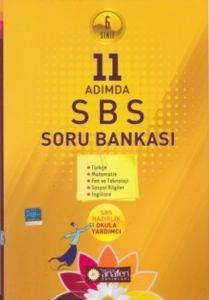 Anafen 6. Sınıf 11 Adımda SBS Soru Bankası