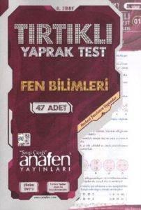 Anafen 8.Sınıf Tırtıklı Fen Ve Teknolojı Yaprak Test