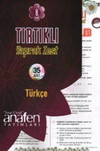 8.Sınıf Türkçe Tırtıklı Yaprak Test