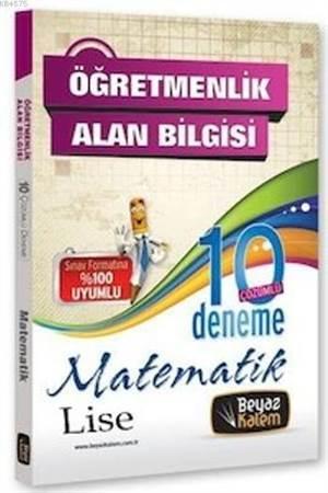 KPSS ÖABT Lise Matematik Çözümlü 10 Deneme 2013