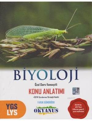 YGS - LYS Biyoloji; Özel Ders Konseptli Konu Anlatımı