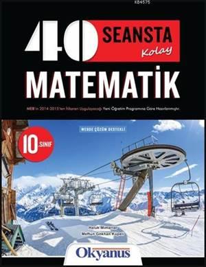 10.Sınıf 40 Seansta  Matematik Özel Ders Konsepi