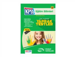 2016 Kpss Eğitim Bilimleri Yaprak Test İadesiz