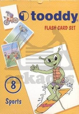Toody Flash Card Set 08 - Sports