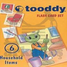 Toody Flash Card Set 06 - Household İtems