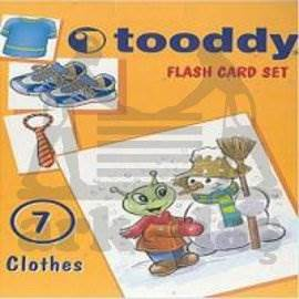 Toody Flash Card Set 07 - Clothes