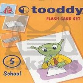 Toody Flash Card Set 05 - School