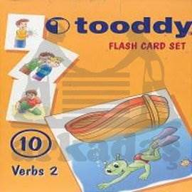 Toody Flash Card Set 10 - Verbs 2