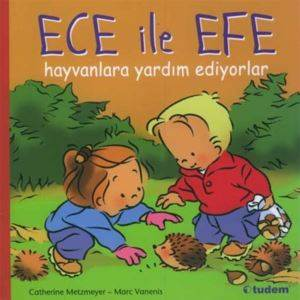 Ece ile Efe Hayvanlara Yardım Ediyoırlar