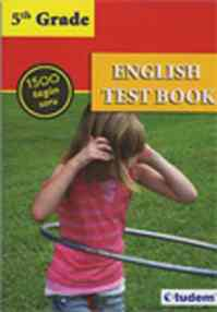 5th Grade English Test Book