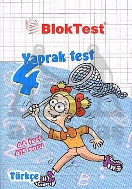 4.Sinif Bloktest Türkçe  Yaprak Test