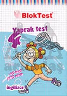 4.Sinif Bloktest İngilizce Yaprak Test