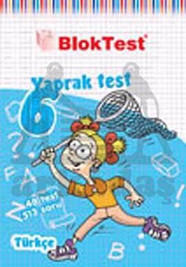 6.Sinif Bloktest Türkçe  Yaprak Test
