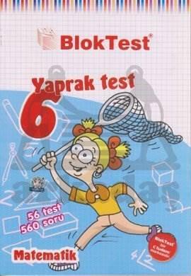6.Sinif Bloktest Matematik Yaprak Test
