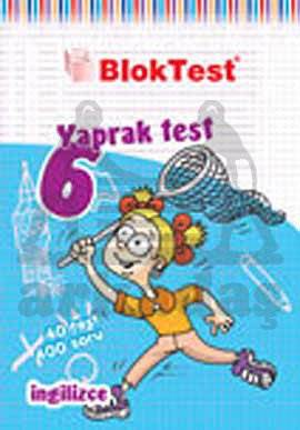 6.Sinif Bloktest İngilizce Yaprak Test
