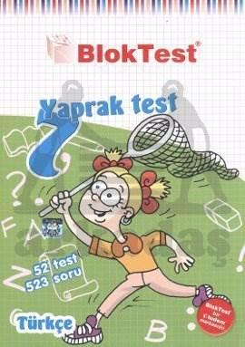 7.Sinif Bloktest Türkçe  Yaprak Test
