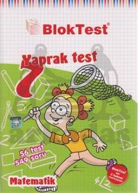 7.Sinif Bloktest Matematik Yaprak Test