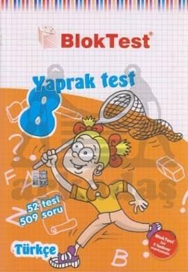 8.Sinif Bloktest Türkçe  Yaprak Test