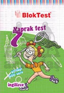 7.Sinif Bloktest İngilizce Yaprak Test