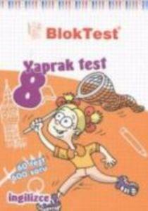 İngilizce 8 Yaprak Test