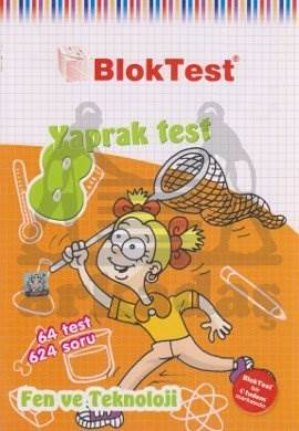 8.Sinif Bloktest Fen Teknoloji Yaprak Test