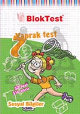 7.Sinif Bloktest Sosyal Yaprak Test