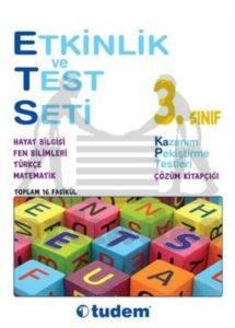 Tudem 3. Sınıf Etkinlik ve Test Seti - ETS