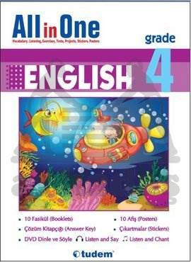 All in One English Grade 4