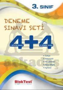Bloktest 3.Sınıf Deneme Sınavı Seti 4+4