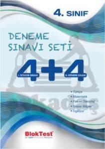 Bloktest 4. Sınıf Deneme Sınavı Seti 4+4