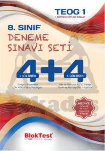 8.Sınıf Deneme Sınavı Seti 4+4 1.Gün Sınavı