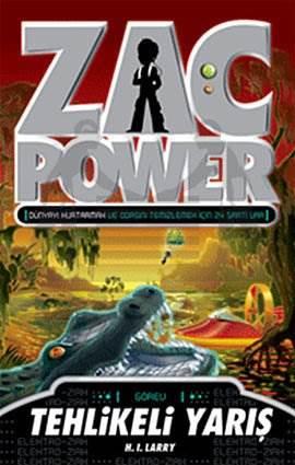 Zac Power 16  - Tehlikeli Yarış